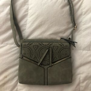 Brand new very light green purse never used